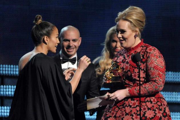 Avec Pitbull et Jennifer Lopez