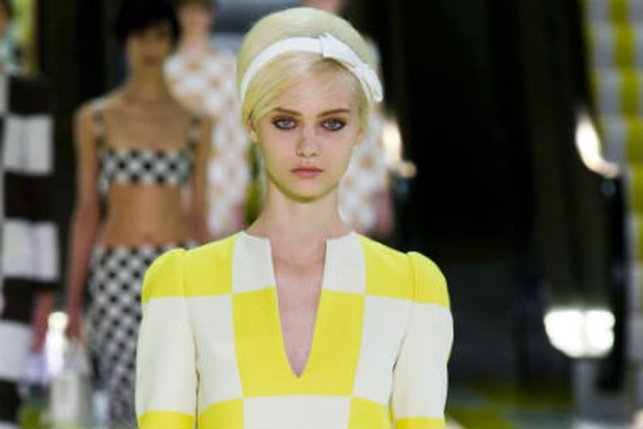 Fashion week Paris: on se tient à carreau chez Louis Vuitton