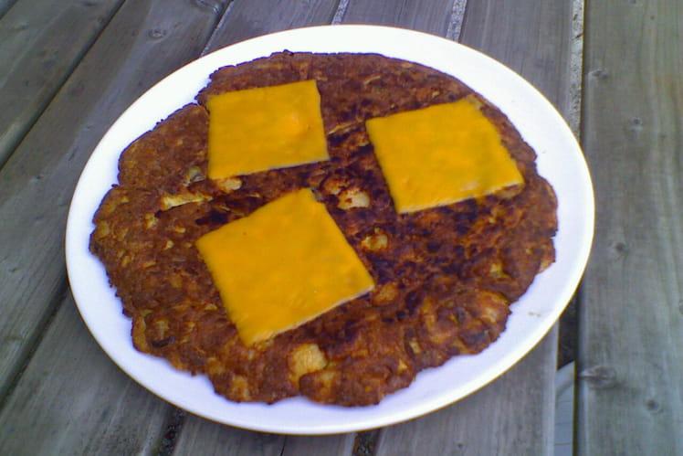 Tortillas légumes et thon