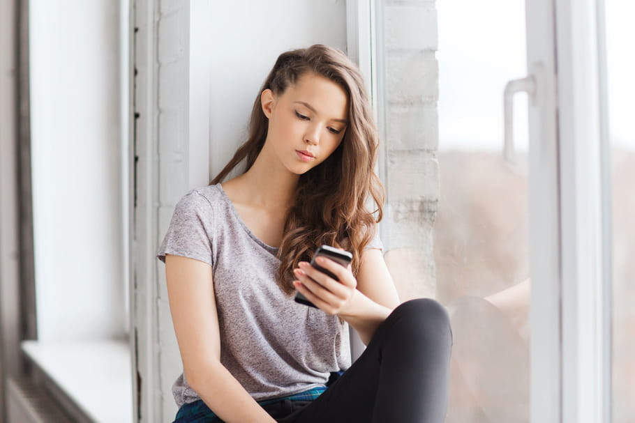Réseaux sociaux: un risque de dépression chez les ados