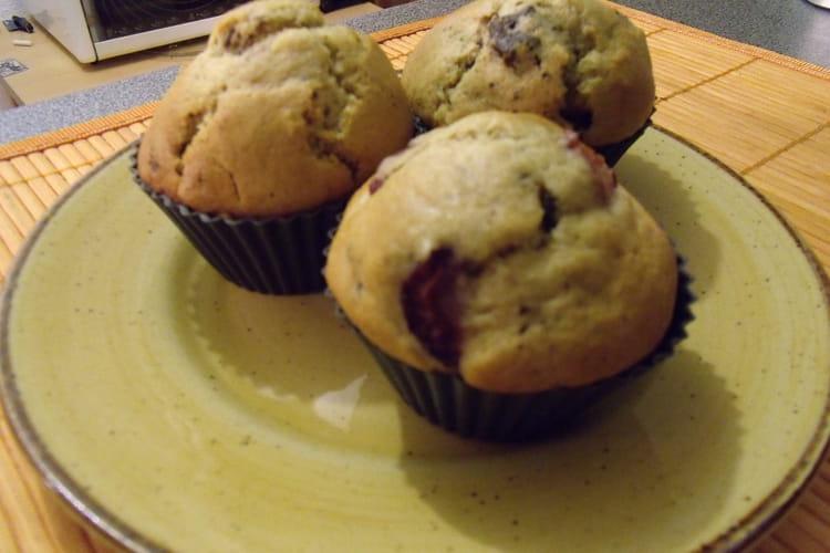 Muffins cerise chocolat