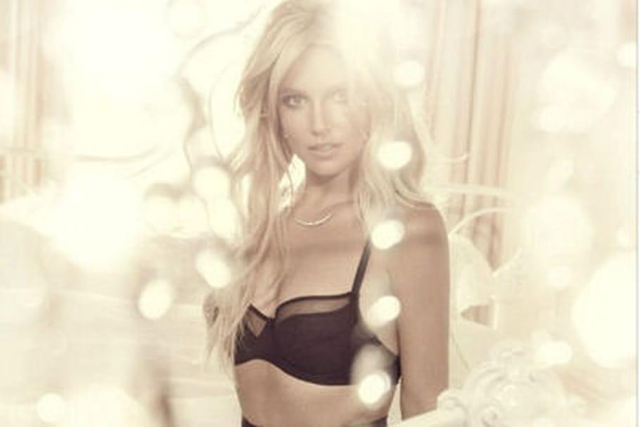 Britney Spears lance sa marque de lingerie