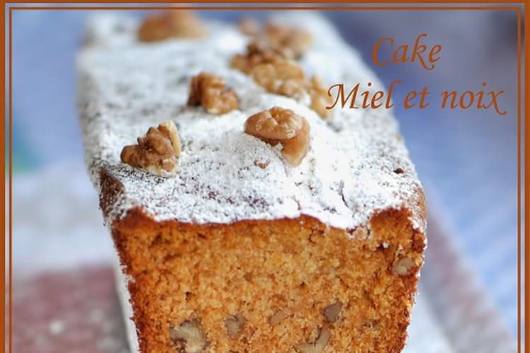 Cake miel & noix