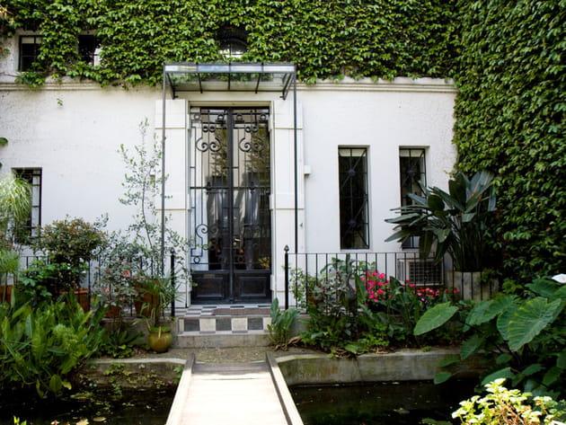 Un mur végétal