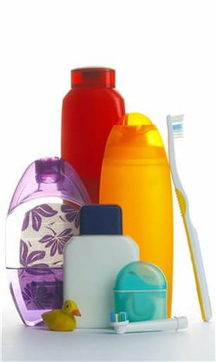 désodorisants, déodorants, dentifrices, maquillage, gels douches... de nombreux