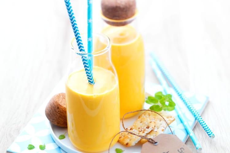 Smoothie douceur carottes, pommes et miel