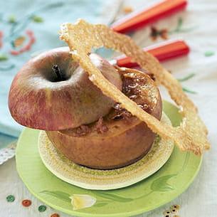 pomme en pot de crème caramel au beurre salé