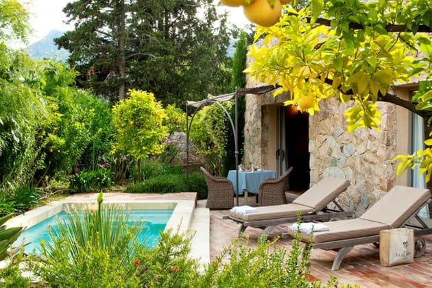 La villa et sa piscine privée de La Signoria