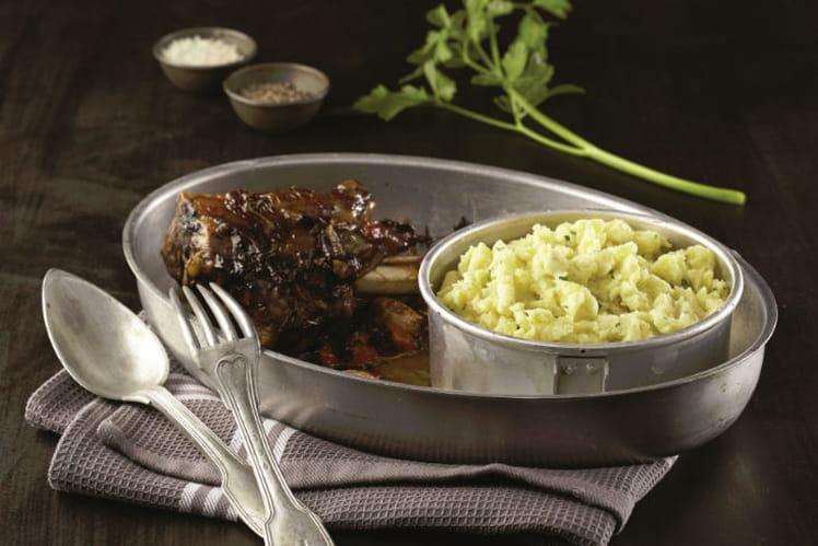 Recette de carbonnade de souris d agneau et ratte du touquet la recette facile - Cuisiner la ratte du touquet ...