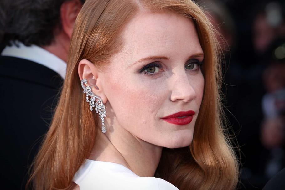 Festival de Cannes: Jessica Chastain, glamour