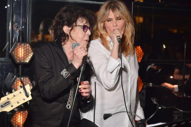 Dani et Emmanuelle Seigner, en duo pour le cocktail Dior x Madame Figaro