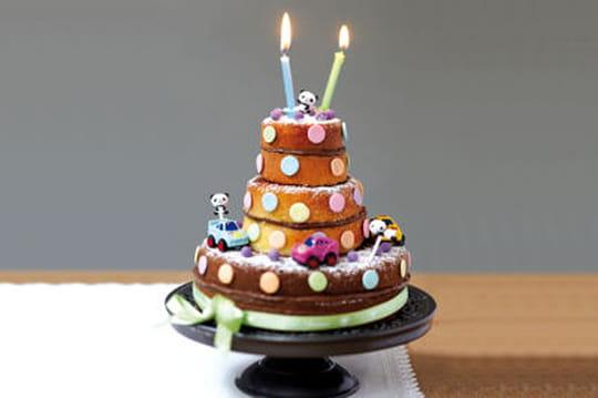 35recettes de gâteaux d'anniversaire