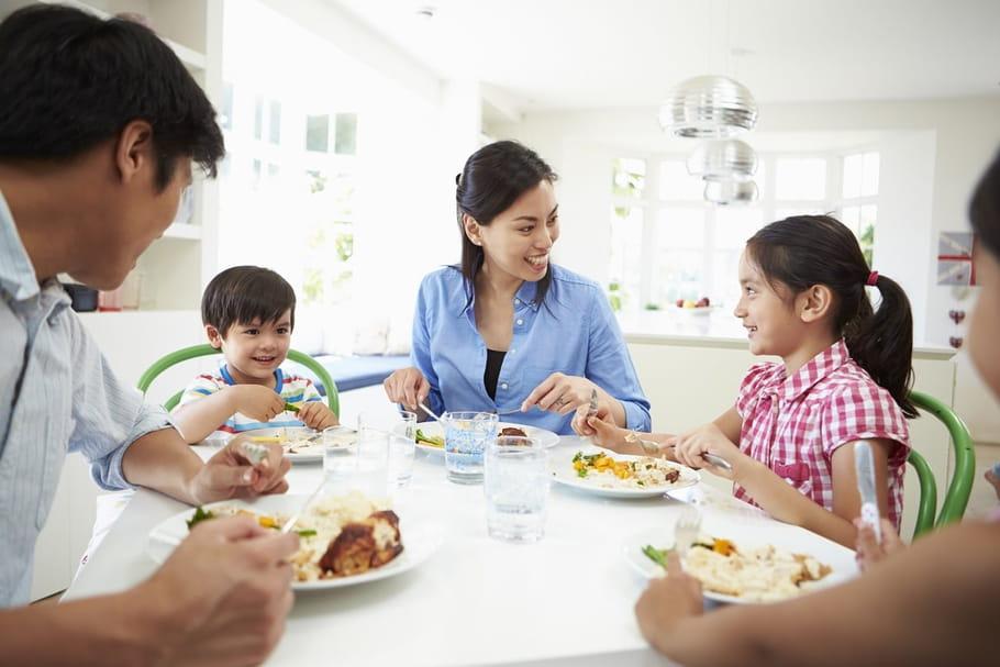 Les repas en famille, un rituel toujours autant apprécié