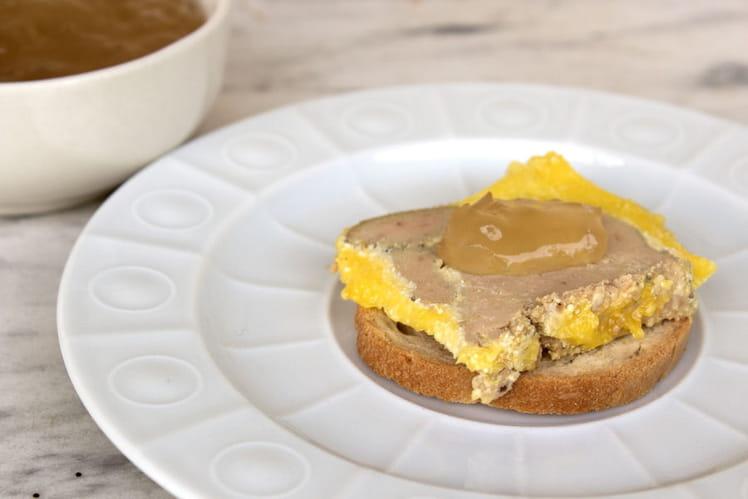 Terrine de foie gras à la muscade