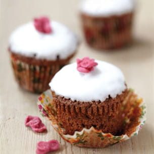 muffins glacés au nutella