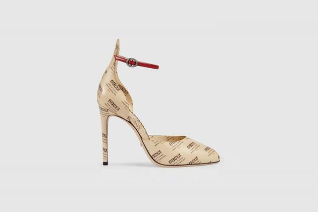 Escarpins imprimés de Gucci