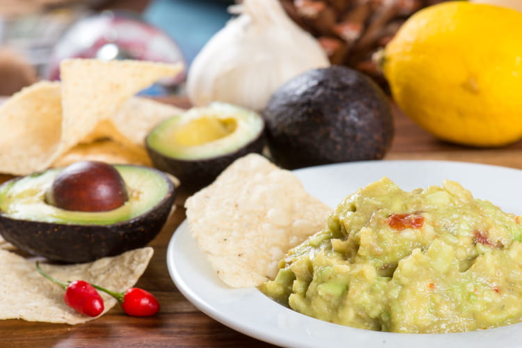 Guacamole simple et rapide