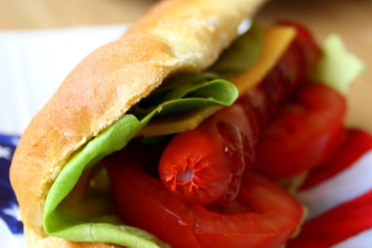 Hot dog 100% fait maison