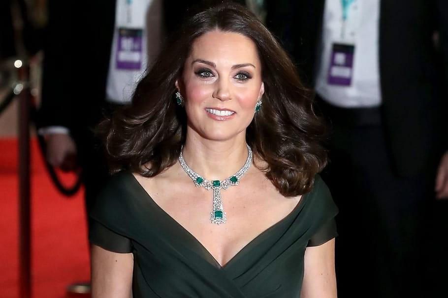 BAFTA 2018: Kate Middleton fait sensation sur le tapis rouge
