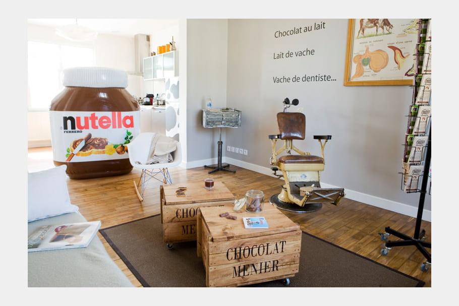 Un appartement en chocolat