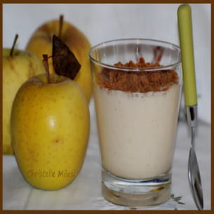 verre gourmand aux pommes