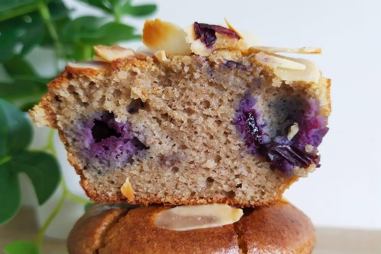 Muffins myrtille IG (index glycémique) bas et sans gluten