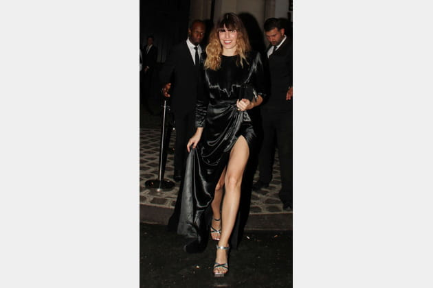 Lou Doillon au dîner Vogue Foundation