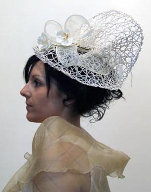 chapeau dentelle de sisal de bénédicte et juliette