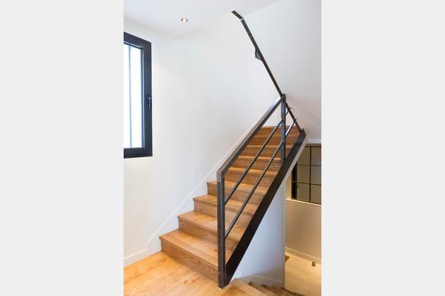 Un escalier central
