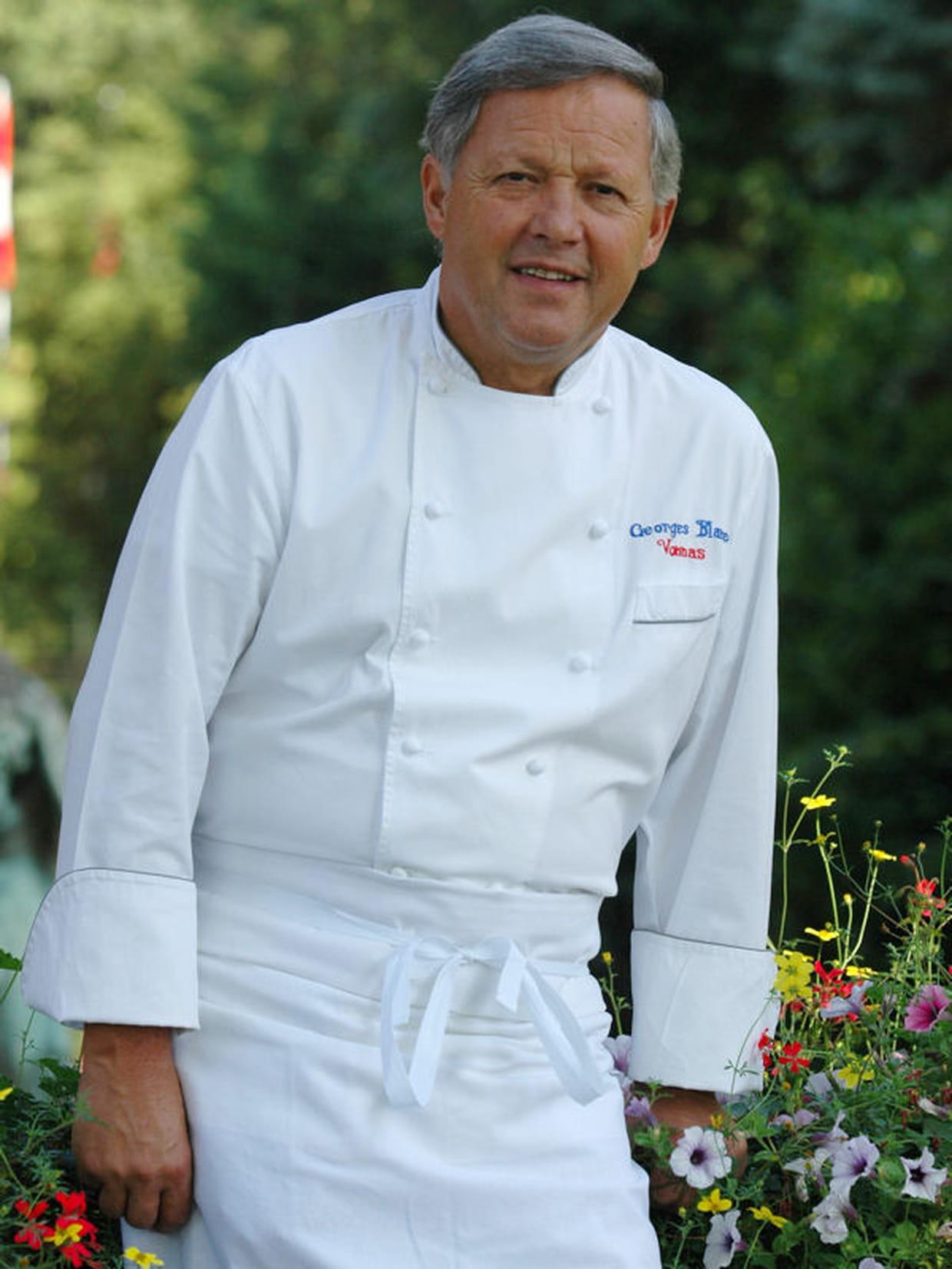 Georges blanc chef de la maison blanc - Cours de cuisine georges blanc ...