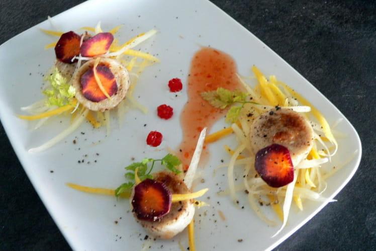 Boudin blanc aux carottes anciennes