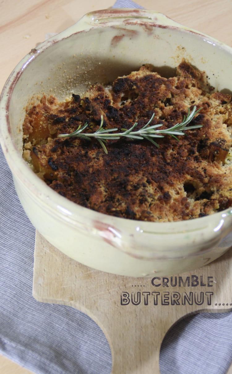 recette de crumble sal au butternut la recette facile. Black Bedroom Furniture Sets. Home Design Ideas