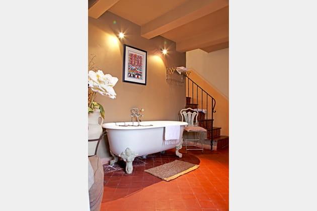 Un coin salle de bains