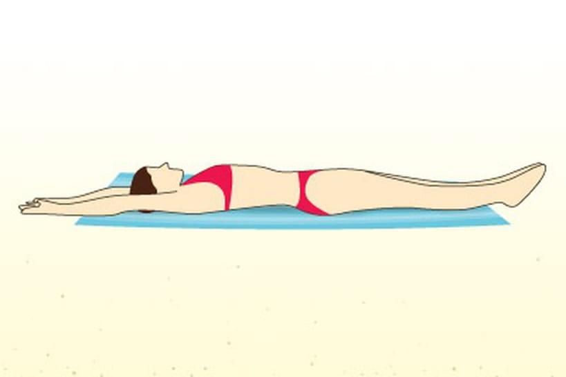 10 exercices discrets à faire sur la plage