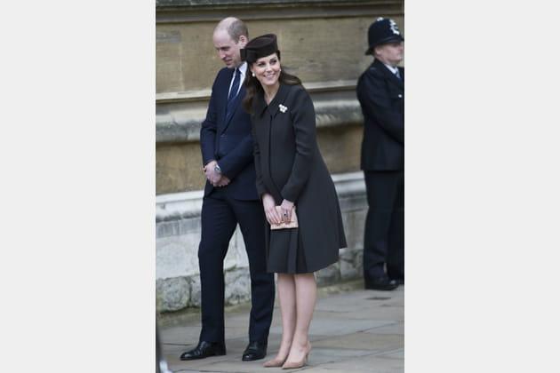 Kate Middleton le 1er avril 2018
