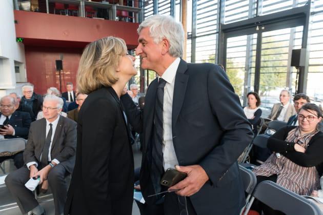 Valérie Pécresse et Hervé Morin: joue contre joue