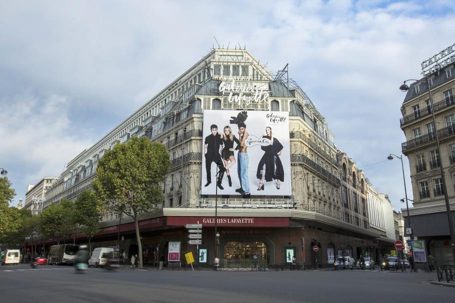 Les Galeries Lafayette ouvrent le dimanche!