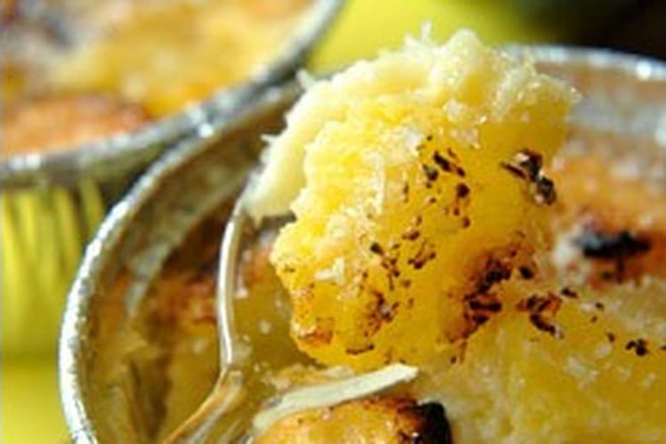 Clafoutis ananas-coco