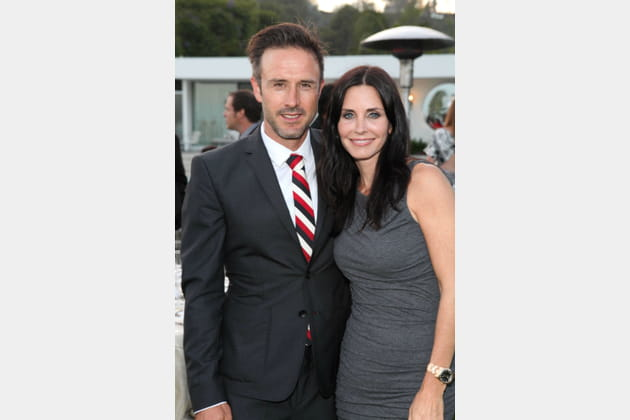 David Arquette et Courteney Cox