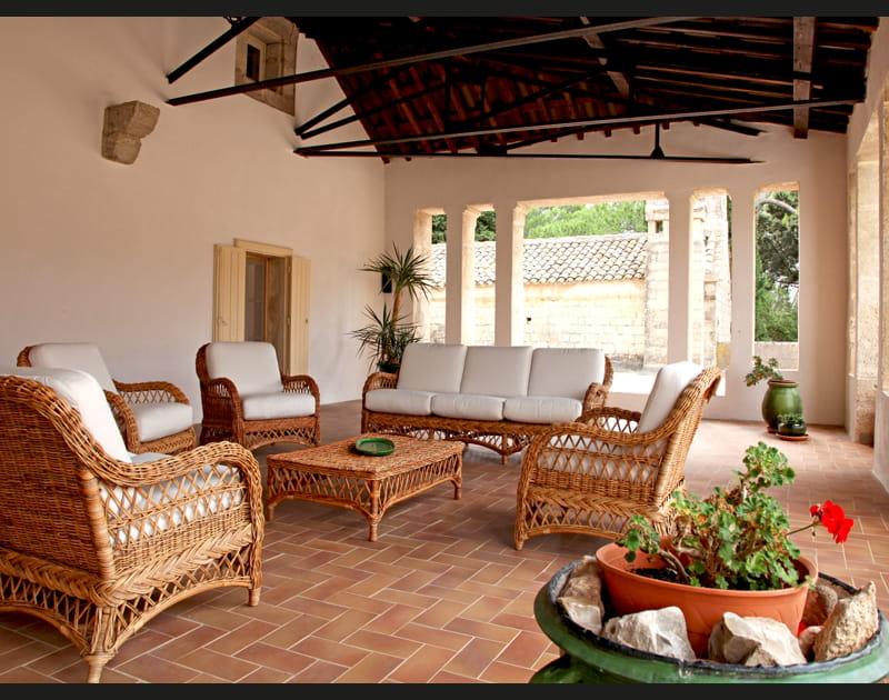 Rotin en terrasse