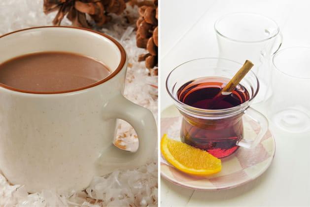 Chocolat chaud ou vin chaud?