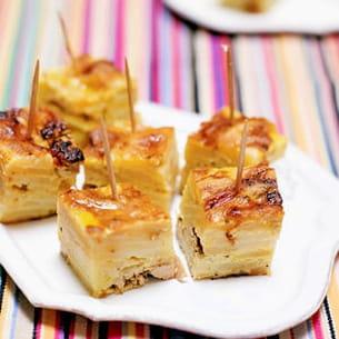 tortilla au foie gras