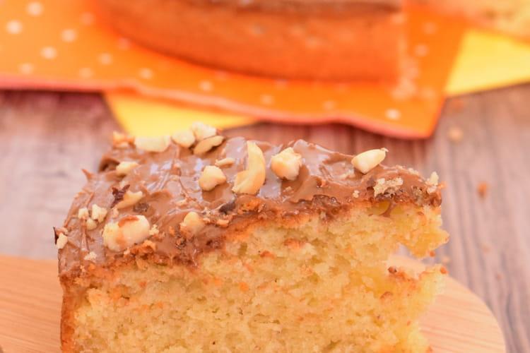 Gâteau à la noisette et au praliné