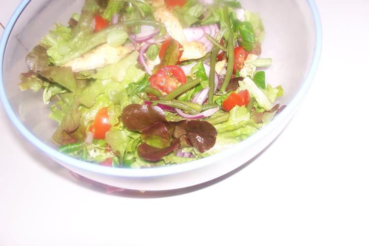 Salade de poulet à la provençale