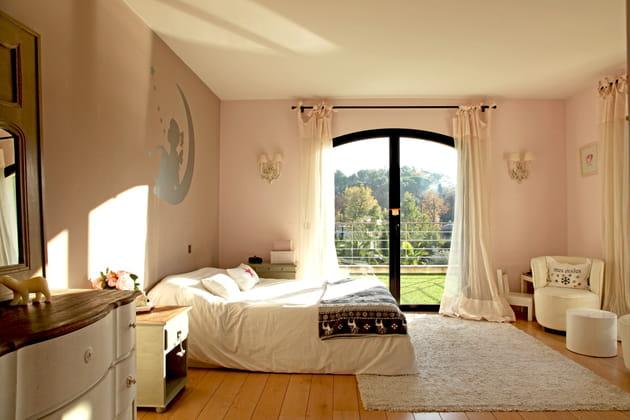 Chambre ado rose