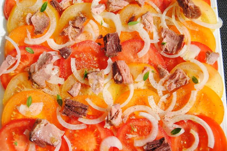 Trio de tomates en salade
