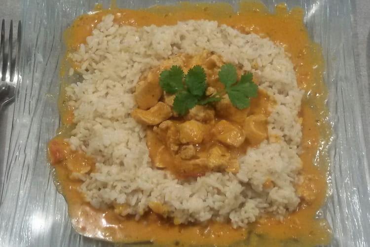 Curry de poulet à ma façon