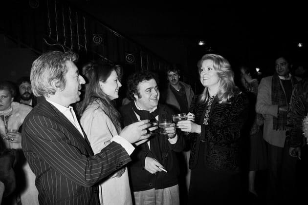 Avec Jacques Villeret, Catherine Deneuve et Jane Birkin