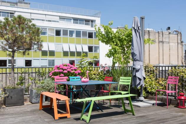 Une terrasse estivale pour faire la fête