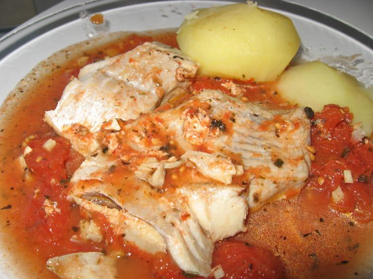 Recette de rago t de poisson la tomate la recette facile - Cuisiner poisson blanc ...